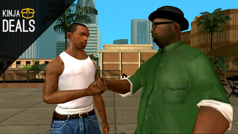 Illustration for article titled Bestsellers: Grand Theft Auto: San Andreas (Android)