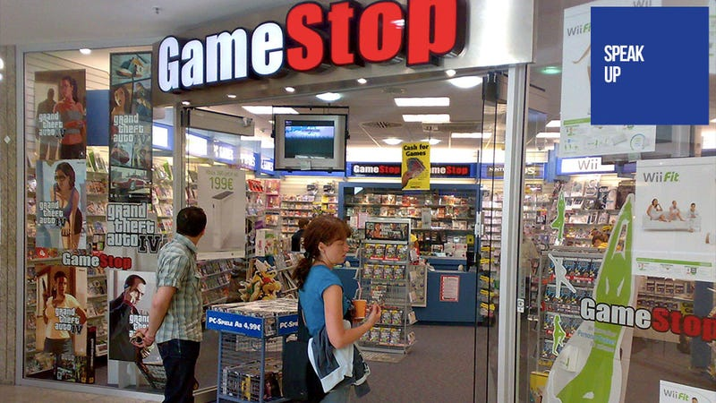 Illustration for article titled Why Do People Hate Shopping at GameStop Again? Oh Yeah.