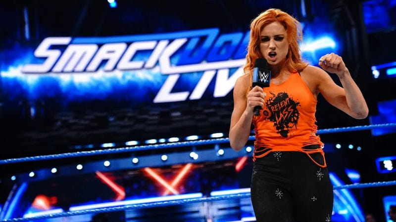 Becky Lynch vents her frustrations.