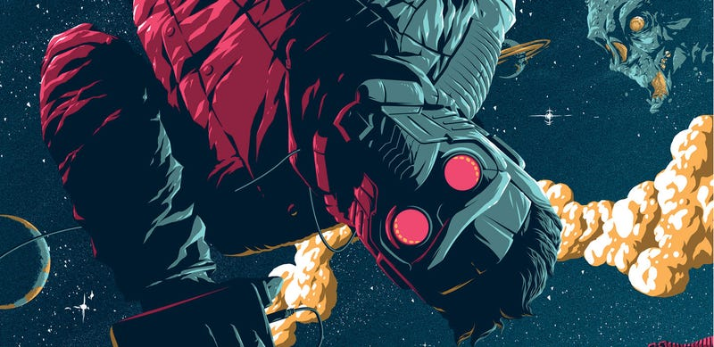 Illustration for article titled You'll Flip Out for This Awesome New Guardians of the Galaxy Poster