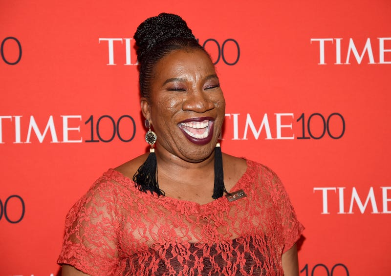Tarana Burke attends the Time 100 Gala in New York City on April 24, 2018.