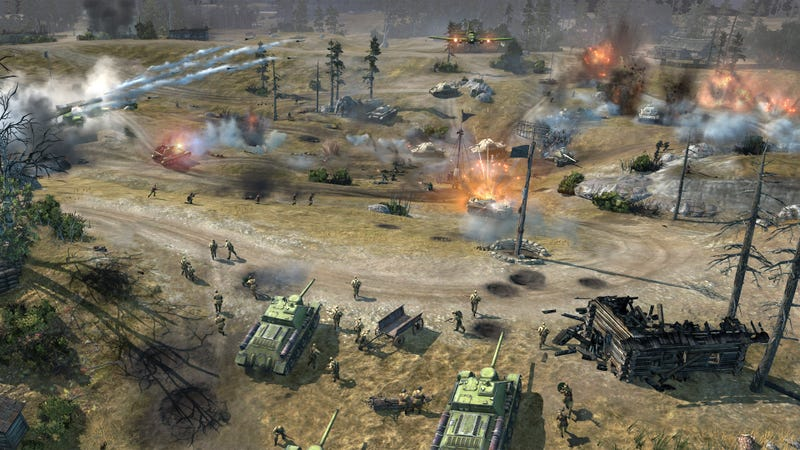 Illustration for article titled Next Week, Some of You Will Get into the Company of Heroes  2 Closed Beta