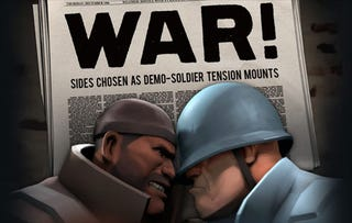 "Illustration for article titled Team Fortress 2's ""War Update"" Lets Players Vote With Kills"