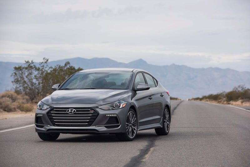 Illustration for article titled Brand New 2017 Elantra Sport is Already Cheaper Than a Two Year Old Fiesta ST