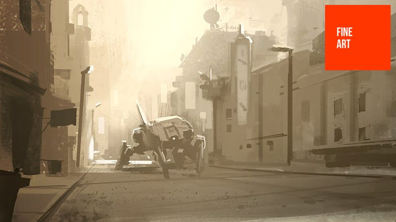 Illustration for article titled The Futuristic Landscapes of Concept Artist Josh Kao