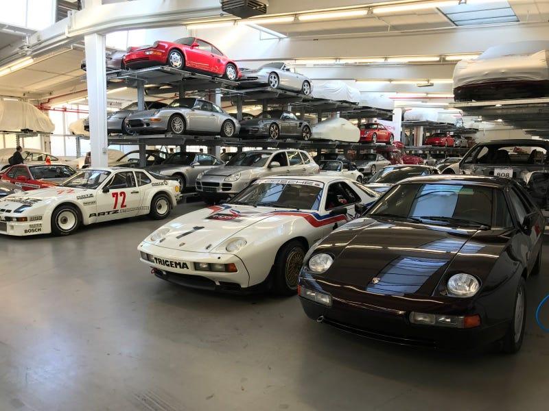 Going Inside Porsche's Secret Vault Left Me On The Edge Of Madness