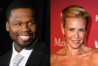 Illustration for article titled 50 Cent & Chelsea Handler Are Dating