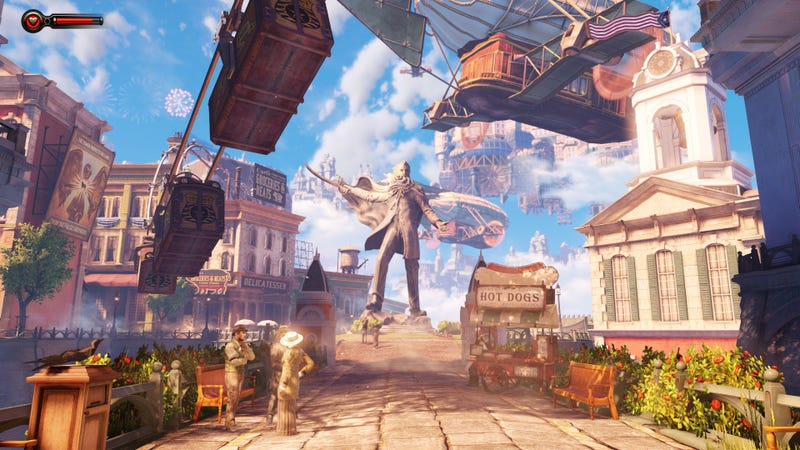 Illustration for article titled Could You Actually Build BioShock Infinite's Floating City in Real Life?