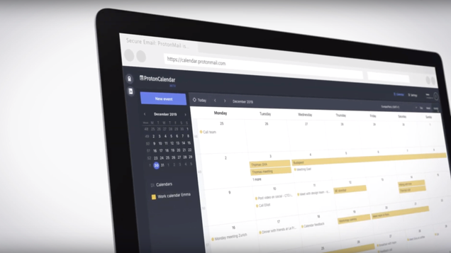ProtonMail Just Launched A Calendar So You Can Encrypt Your 2020