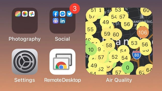 How to Add an Air Quality Widget to iOS 14