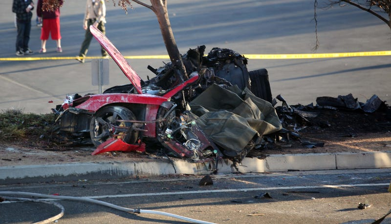 """Illustration for article titled """"Speed Alone"""" To Blame For Paul Walker Crash"""