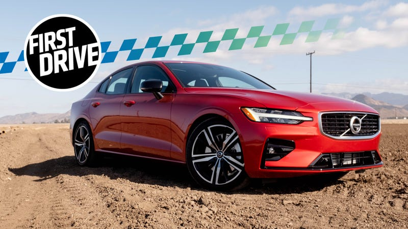 The 2019 Volvo S60 Polestar Engineered Has 416 Hp But R Design Feels Like Real Sports Sedan