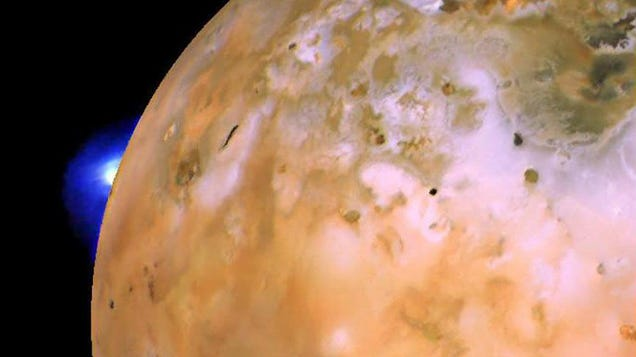 The Biggest Volcano on Jupiter's Molten Moon Io Is Likely to Erupt at Any Moment
