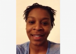 Sandra Bland posted a video March 1, 2015, indicating that she had been suffering from depression and post-traumatic stress disorder, but encouraging her viewers to remember that all things are possible. YouTube screenshot