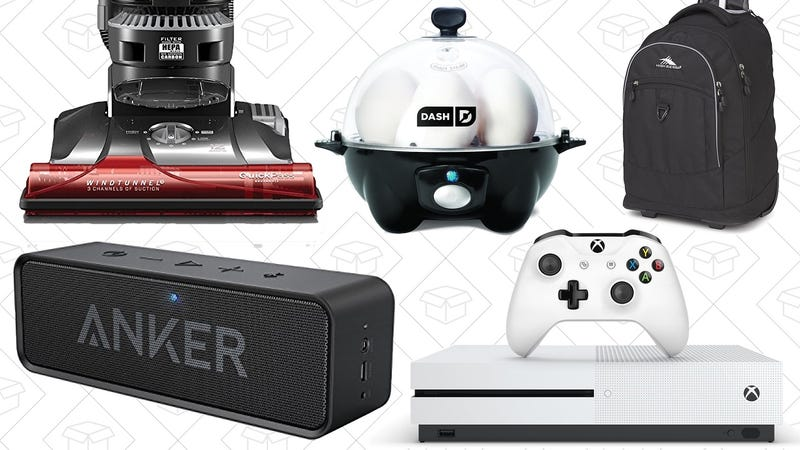 Illustration for article titled Today's Best Deals: Anker SoundCore, Dash Egg Cooker, Back to School Backpacks, and More