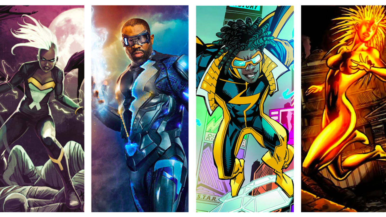 Why Do So Many Black Superheroes Have Electricity Powers?