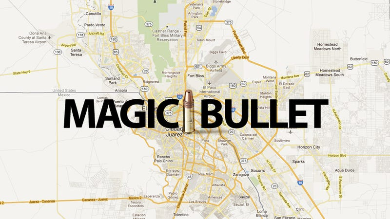 Illustration for article titled Magic Bullet Crosses Mexican Border to Hit Woman In Texas