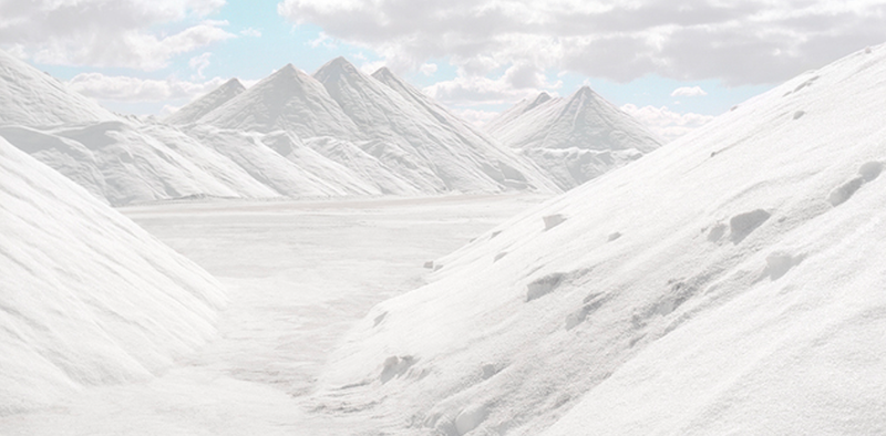 Illustration for article titled Stunning Landscapes of Salt Look Like Images of An Alien World