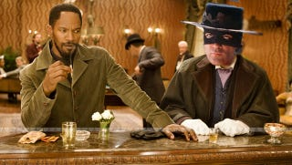 Illustration for article titled Quentin Tarantino Is Making A Django Unchained/Zorro Crossover Comic