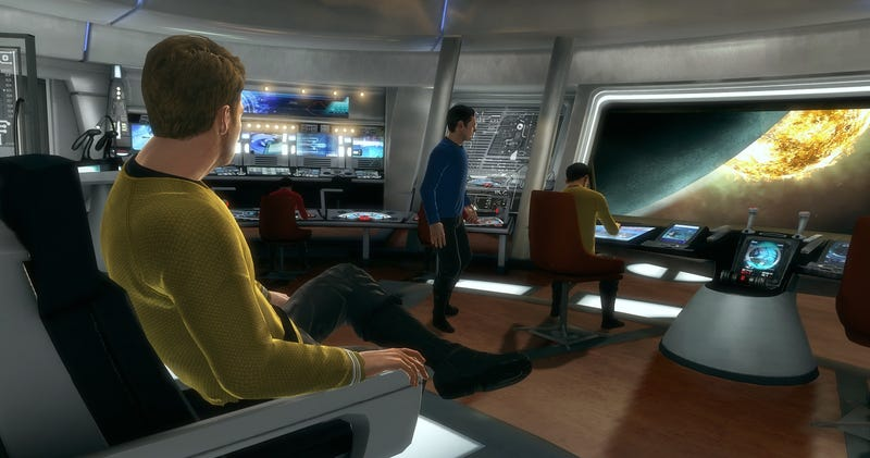Illustration for article titled JJ Abrams: Star Trek game 'didn't help [STID], and arguably hurt it'