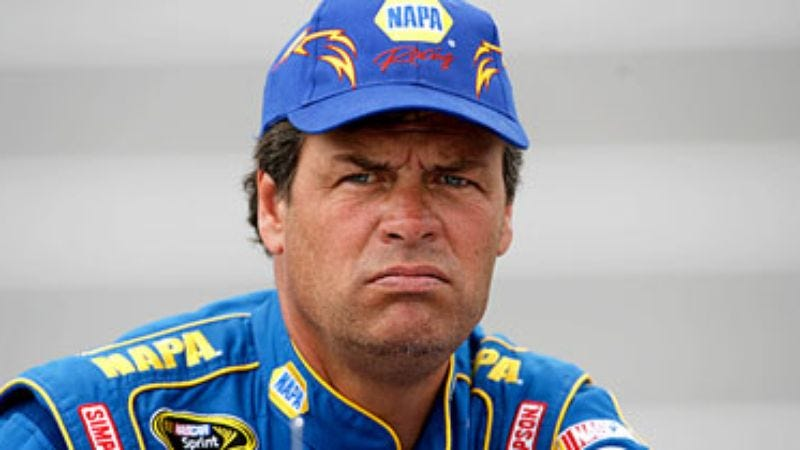 Illustration for article titled Michael Waltrip Wins NASCAR's Sixth Cousin Award