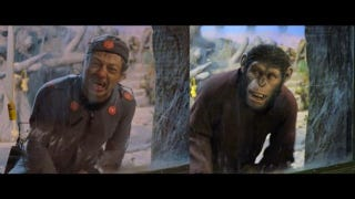 Illustration for article titled CG-free clip from Planet of the Apes shows why Andy Serkis should get an Oscar nod