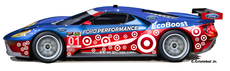 Illustration for article titled What Would A Chip Ganassi Ford GT Look Like?