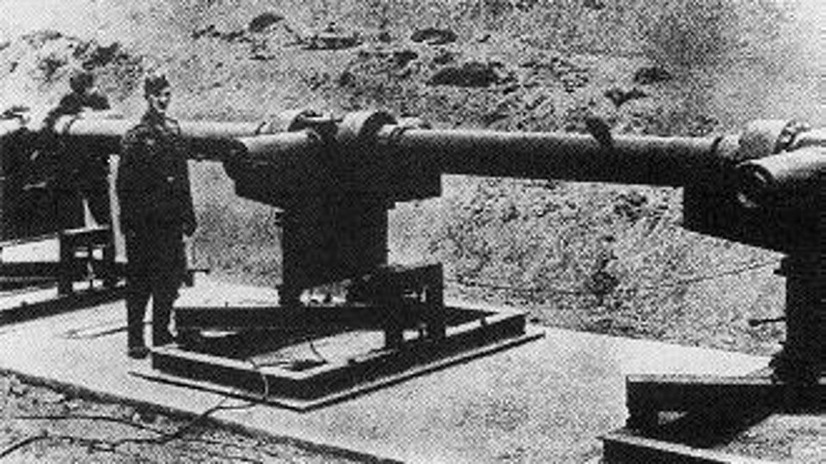10 types of experimental weapons of the Nazis