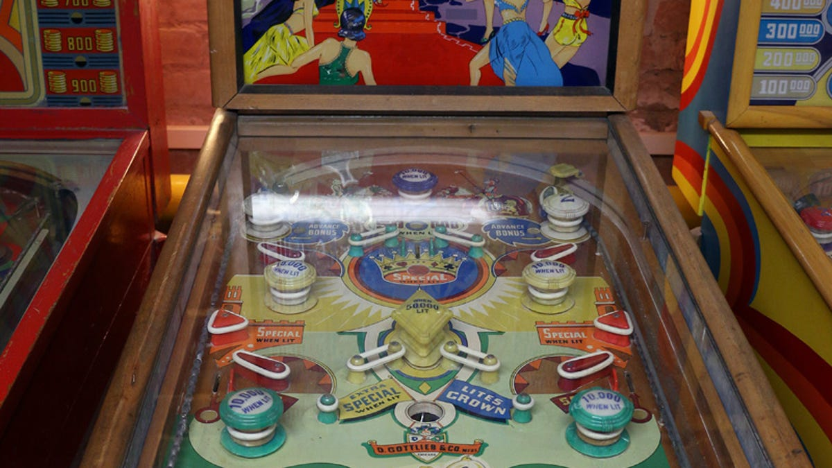 The Evolution of Pinball Machines