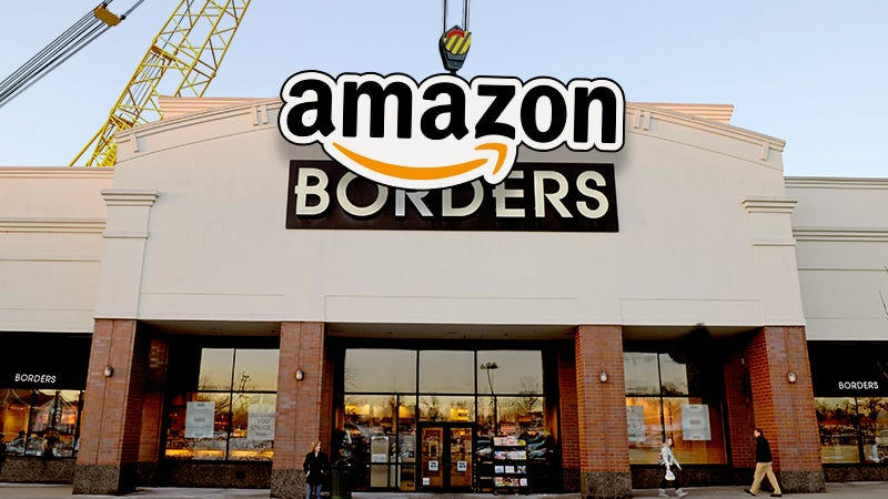 Amazon Will Open Physical Bookstores Because Life Is a
