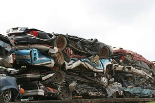 Illustration for article titled More Cars Junked Than Sold For First Time Since WWII