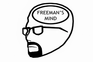 "Illustration for article titled Freeman's Mind - ""Kept you waiting, huh?"""