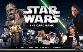 Illustration for article titled TAY Board Game Night: Star Wars: The Card Game