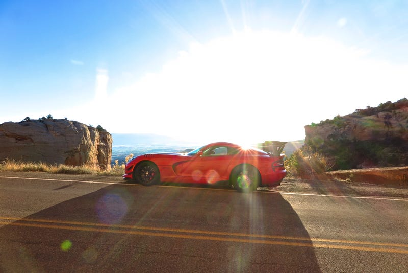 Illustration for article titled 2,500 Miles Down in the '16 Viper ACR...