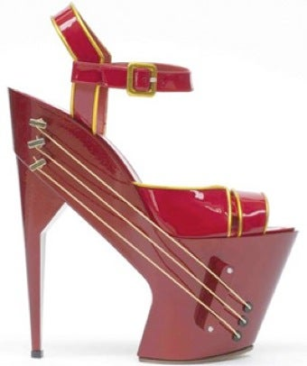 Illustration for article titled High Heels Also Function As An Electric Guitar