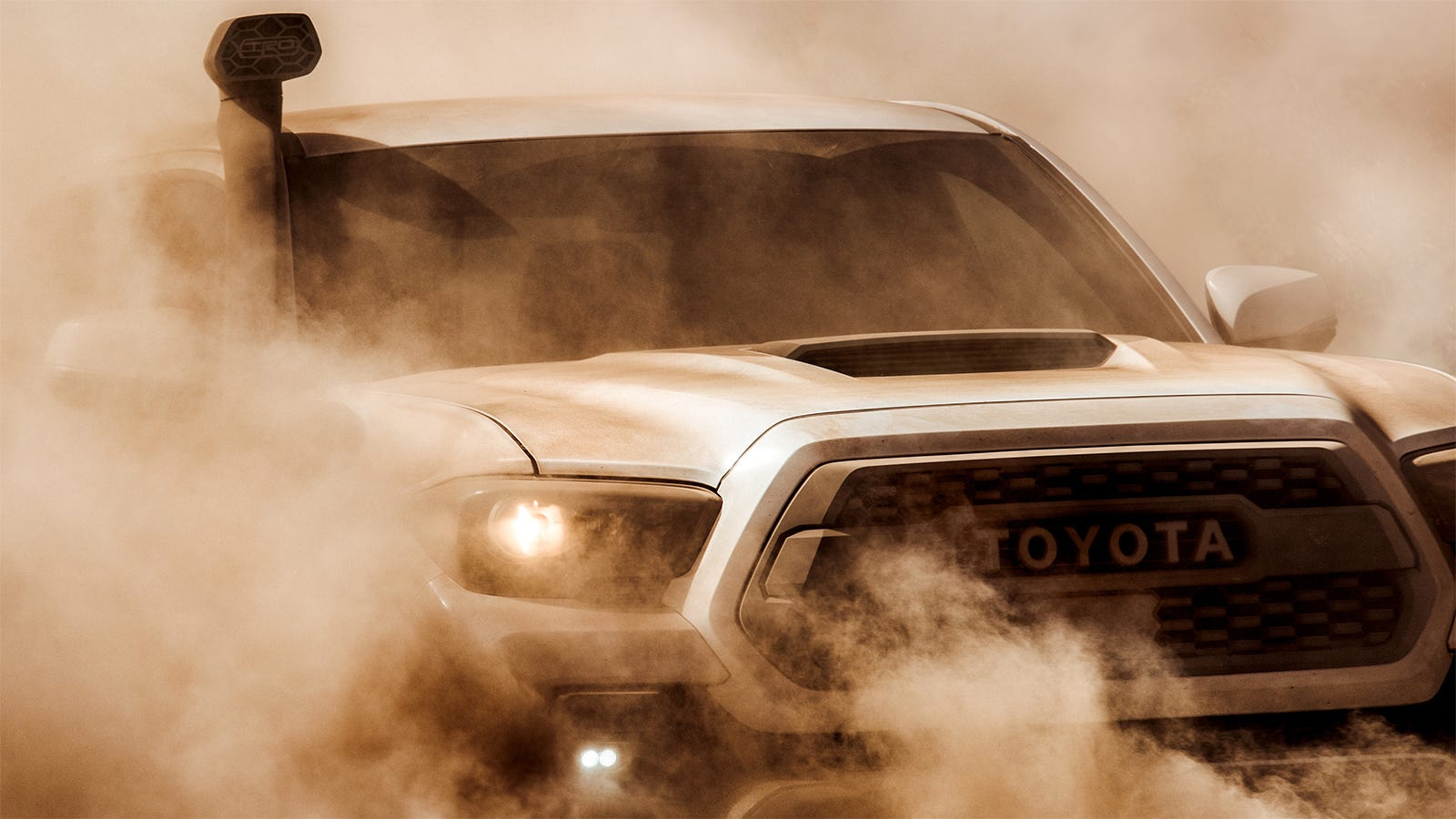 Trd Pro Tundra >> The 2019 Toyota Tacoma TRD Pro Gets A Goddamned Snorkel