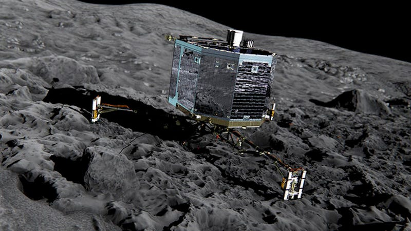 Illustration for article titled The Last, Desperate Attempt to Contact the Philae Lander Has Probably Failed
