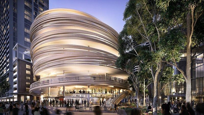 Image: Kengo Kuma Architects and the City of Sydney