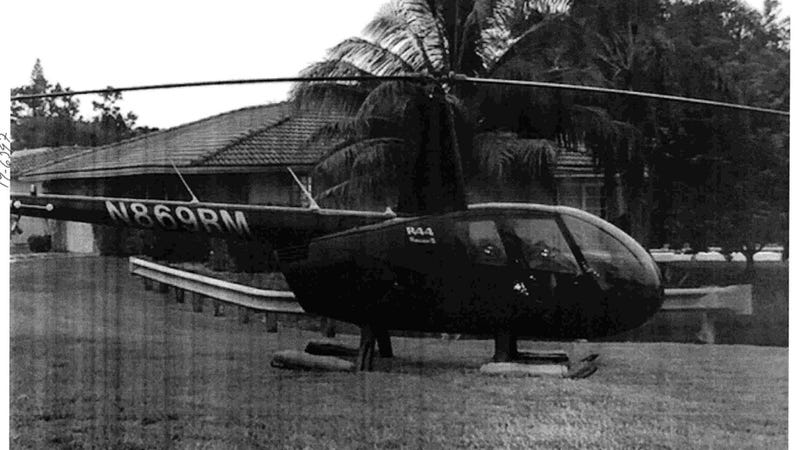 Image of the offending R44 courtesy City of Coral Springs, circa nineteen sixty-something