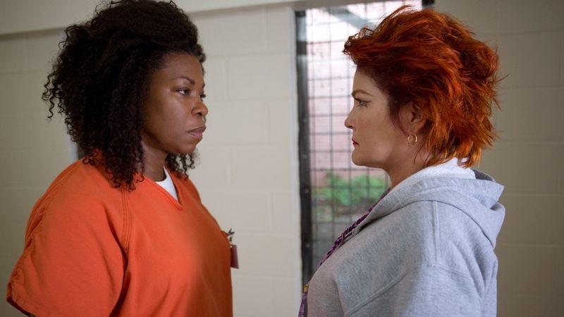 Lorraine Toussaint (left), Kate Mulgrew