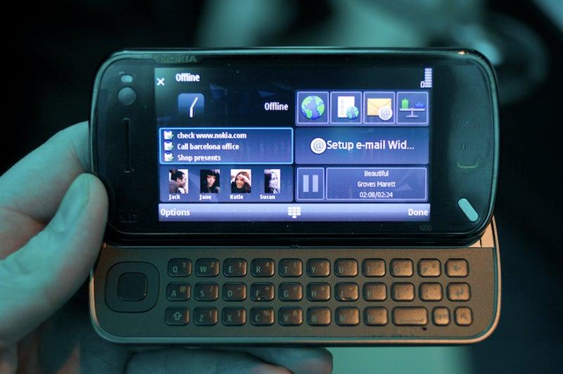 nokia n97 hands on the first high end n series touch phone rh gizmodo com Nokia N93 Nokia N73