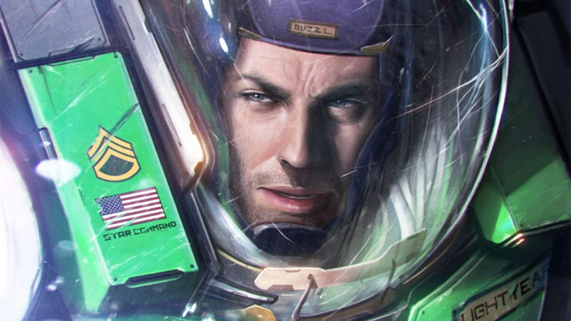 Illustration for article titled This Badass Buzz Lightyear Could Definitely Save The Galaxy