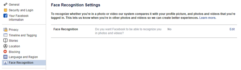 How to Stop Facebook From Identifying Your Face