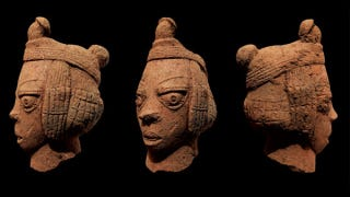 Illustration for article titled Ancient African sculpture discovered after 2,000 years in the mud