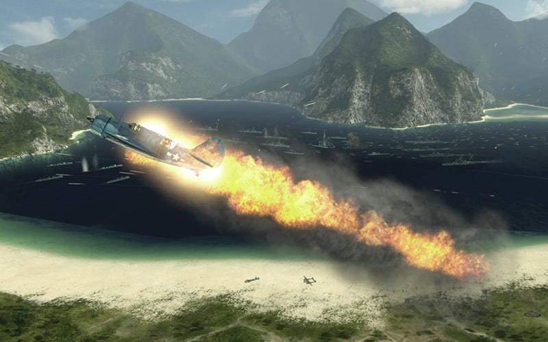 Illustration for article titled Battlestations: Pacific Volcano Map Pack Erupts Tomorrow