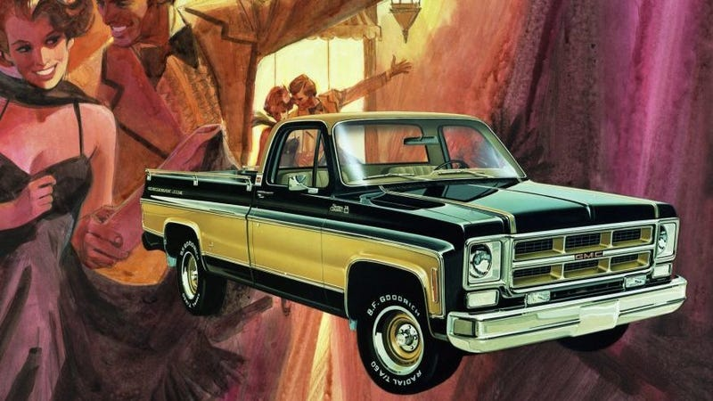 "Illustration for article titled Square Body Geek Week: 1975 GMC Sierra Classic ""Gentleman Jim"""