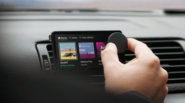 Spotify s Voice-Controlled  Car Thing  Launches as a Limited Release