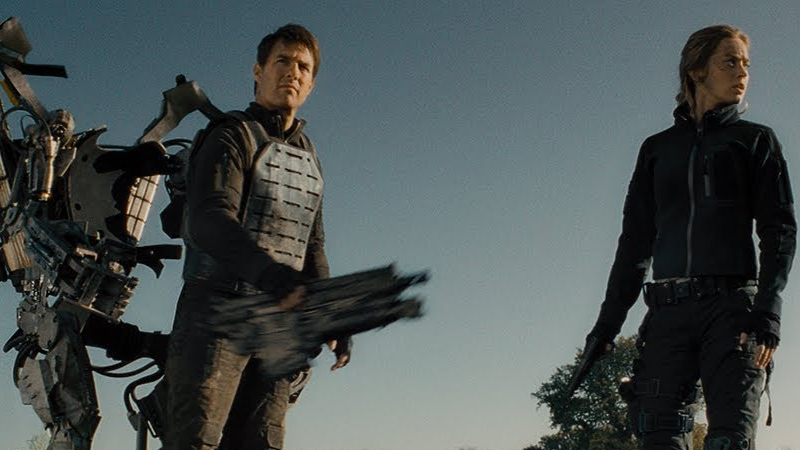 Tom Cruise and Emily Blunt are getting ready to live, die, and repeat all over again.
