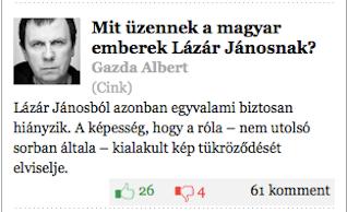 Illustration for article titled Amíg nem figyeltem oda, Lázár miatt kitört a forradalom a jobboldalon?
