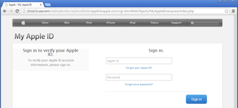 Illustration for article titled Look Out For This Dangerously Convincing Apple ID Phishing Scam